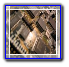 Electronics devices on a printed circuit board